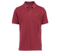 Herren Poloshirt Pele Kurzarm, Rot