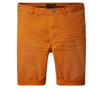 Herren Shorts, orange