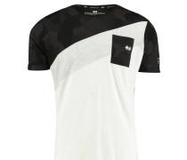 "Herren T-Shirt ""Splitcam"", schwarz"