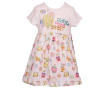 Mädchen Baby-Kleid, wollweiss