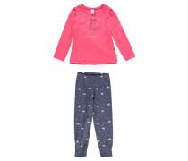 Mädchen Schlafanzug, koralle