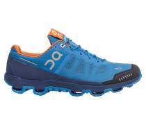 Herren Trailrunningschuhe Cloudventure blau/orange, Blau
