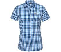 Jack Wolfskin: Damen Bluse Flaming Vent Shirt, blau