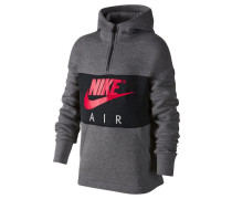 Boys Sweatshirt mit Kapuze Air Hoodie, Grau