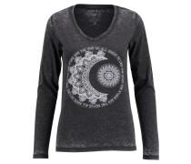 Damen Shirt Moon Stars Langarm verfügbar in Größe LSM