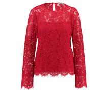 Damen Shirt Langarm, Rot