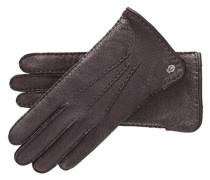 Damen Lederhandschuhe, Braun
