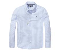 Jungen Baby-Hemd Park Stripe Custom Fit Langarm