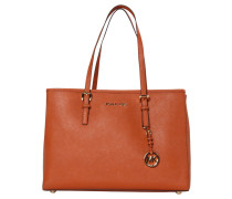 Damen Henkeltasche Jet Set Travel, Orange