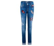 Mädchen Jeans Slim Fit, blue