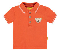 Jungen Poloshirt Kurzarn, Orange
