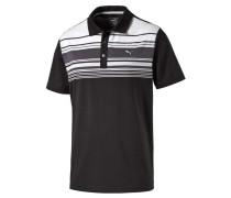 Herren Golf Poloshirt Key Stripe Kurzarm