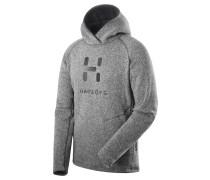 Herren Fleecepullover mit Kapuze Swook Logo Hood Men