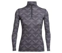 Damen Funktionswäsche Oasis Long Sleeve Half Zip, Grau