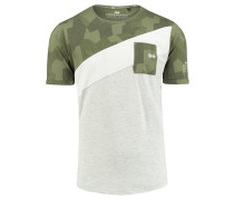 "Herren T-Shirt ""Splitcam"", oliv"