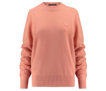 Damen Pullover Nalon Face Langarm, pink