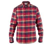 Herren Wanderhemd / Outdoor-Hemd Sarek Heavy Flannel Shirt, Rot