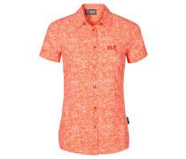 Damen Bluse Wahia Print Shirt, Rot