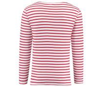 Herren Shirt Langarm, Rot