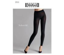 """Damen Leggings """"Velvet"""", schwarz"""