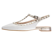 Damen Sling Sandaletten Babiel-Mu, Weiß