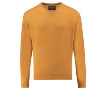 Herren Kaschmir-Pullover, gelb