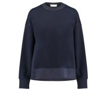 Damen Sweatshirt, marine