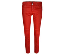 Damen Jeans Skinny Fit, rot