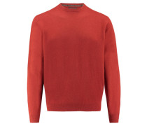 Herren Kaschmir-Pullover, Orange