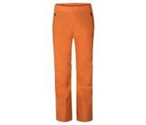 Herren Skihose Formular, Orange
