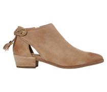 Damen Schuhe Jennings Flat Bootie, Beige