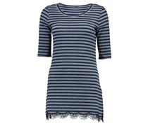 Marc Cain: Damen Shirt Dreiviertel, blau