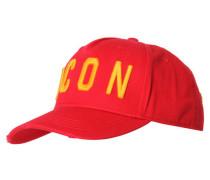Herren Cap, rot