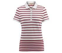 Damen Poloshirt Ausa Kurzarm, Weiß