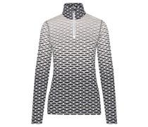 Damen Golfshirt Tuana Langarm, Grau