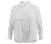 Damen Bluse Richie Langarm, Weiß