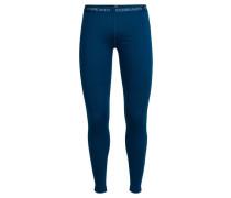 Damen lange Funktionsunterhose / Unterhose Wmns Oasis Leggings, Blau