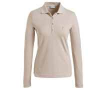 Damen Golf Poloshirt The Brushed Sun Protection Langarm