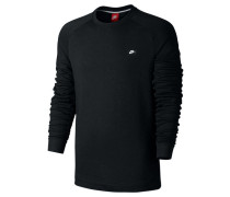 "Herren Sweatshirt ""Modern Crew"", schwarz"