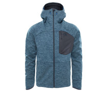 Herren Softshelljacke Thermal Windwall Hoody, Blau