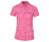 Damen Bluse Wahia Print Shirt, pink