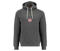 Herren Kapuzensweatshirt Shield Sweat Hoodie, Grau