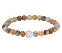 "Damen Edelstein-Armband ""Beads"", sand"