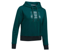 Damen Sweatshirt mit Kapuze Threadborne Fleece BL Hoodie, Grün