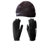 Herren Running Dri Fit Beanie/Glove Set
