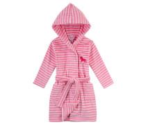 Mädchen Bademantel, pink