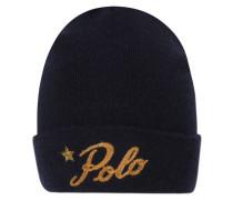 """Damen Mütze """"Beanie Hat Wool"""", marine"""