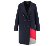 Damen Mantel Carmen Df Clr Block Wool Coat, Grau