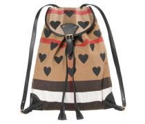 Damen Rucksack Canvas Check Hearts Medium Chiltern Backpack