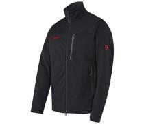 Herren Softshelljacke Ultimate Jacket Men, Schwarz